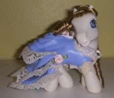 My Little Pony Custom Victoria by colorscapesart