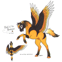 Flight of the Bumblebee by Dragonheart-Stables
