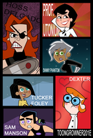 Concept art Gender Bender Toons by toongrowner