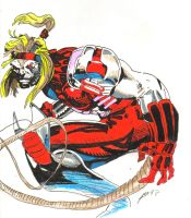 Omega Red by jesterace