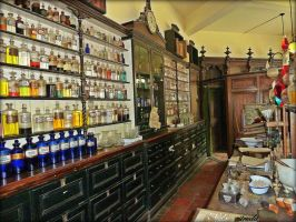 The Medicine Cupboard by Estruda