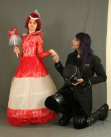 The Red Queen and the Mad Hatter 4 by MajesticStock
