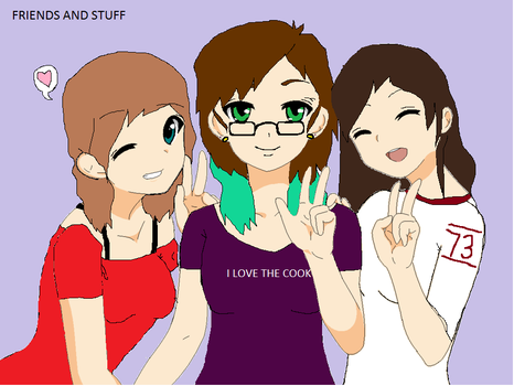 Friends and stuff c: by kyolover123456789