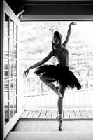 Dancer in the Doorway by HowNowVihao