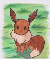 Gift Request Eevee by NoodlesTheName