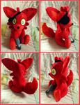 :: Five Nights At Freddy's Foxy Plushie :: by Fallenpeach