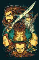 The Hobbit by anggatantama