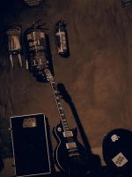 The Axe (Sepia) by JolanthusTrel