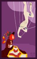 Not Quite Little Miss Muffet by dracothrope