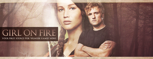 Girl on fire header by Hesavampire
