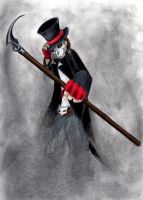 The Grim Reaper by Wolfiesprite