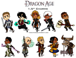 Dragon Age charms by TheDutchesse