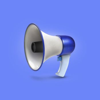 Megaphone icon by AndexDesign