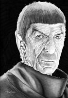 Spock by B-Richards