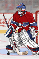 Montreal - 31 Carey Price by BoboVicieux
