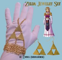 Zelda Jewelry Set by bornahorse