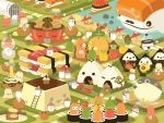 Rice Buddy Town by orangecircle