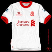 Liverpool Away 2 Warrior 2012 by kitster29