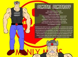 Gate Guard One: Dimitri by ManlyMens
