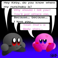 Shadow kirby is dangerous by stormcannon1