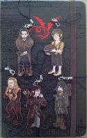 The Hobbit keychains by Poralizer