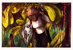 Jas in the Jungle by Dreamsoffools