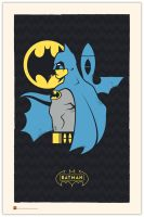 Hero Profiles: Batman by daabcreative