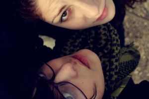 Selin and Me by cloverpunk