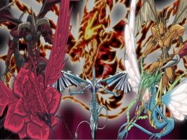 Yu-Gi-Oh 5D's Dragon Desktop by iCards