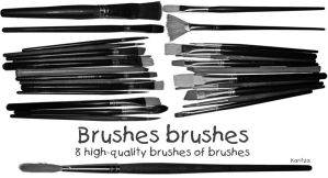 Brushes Brushes by KW-stock