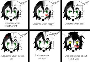Ulquiorra Moods Chibbi by go-die-in-hell