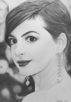 Anne Hathaway by JamesF63