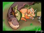 LBT:Just Like Old Times by WeisseEdelweiss