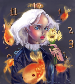 Time Flows by eriume