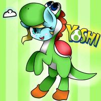 lovely yoshi star X3 by valescalove321