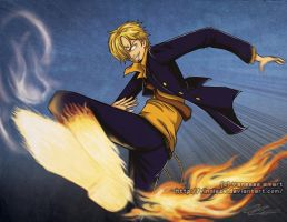 One Piece: Sanji by Vinnie14
