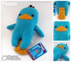 Perry the Plush Platypus Pics by ChannelChangers