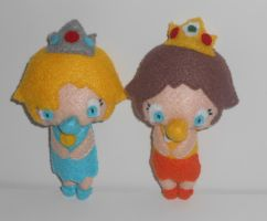 CM: Baby Princess Plushies by kiddomerriweather