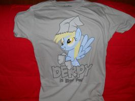My new Derpy shirt by aohoshi2008