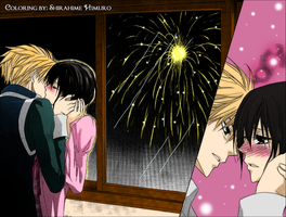 Usui and Misaki Kiss by meredy90