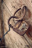 Locked Door by saleemFa5oury