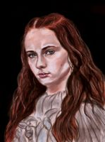 Sansa Stark (Game of Thrones) by Gnomushka