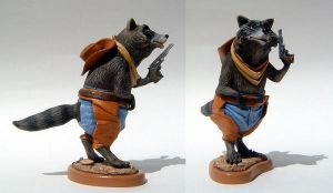 Rocky Raccoon by thebiscuitboy