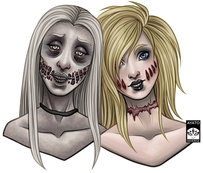 Creepypasta - Sisters from another Mister by Ayato-Inverse