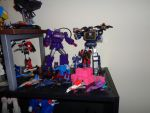 Transformers Shelf - Right of Mini Display by DraconicArmagon