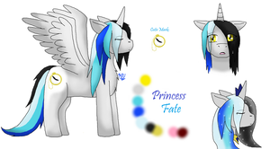 Princess Fate the Alicorn by MidnightTheUmbreon