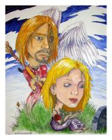 Never Alone: Kurt and Courtney by EuphoriouSin
