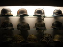 German helmets by DeSynchronizer