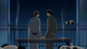 Junjou Romantica - Egoist kiss under fireworks by KNPRO
