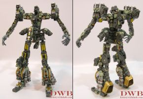 1/72 Kshatriya Frame by Bang-Doll-SSI